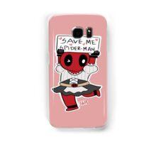 Save me Spider-Man! Samsung Galaxy Case/Skin