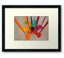 Ittens Cube - Any Colour You Like Framed Print