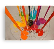 Ittens Cube - Any Colour You Like Canvas Print