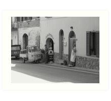 Pizza a Taglio, Chianti, Italy Art Print