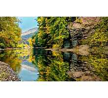 Pine Creek Reflection Photographic Print