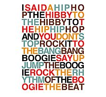 Rapper's Delight - Sugarhill Gang Photographic Print