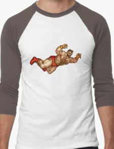 Zangief Men's Baseball ¾ T-Shirt