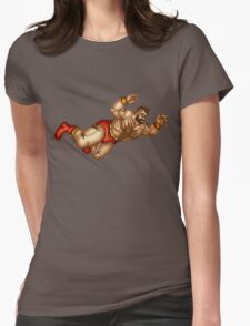 Zangief Womens Fitted T-Shirt