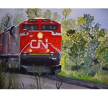 Vicky's train Photographic Print
