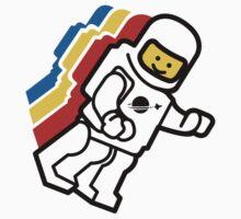 LEGO Classic Space Minifig Kids Tee