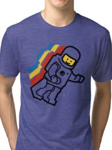 LEGO Classic Space Minifig Tri-blend T-Shirt
