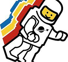 LEGO Classic Space Minifig by Tokiyamori