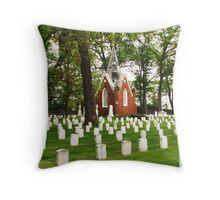 Shrine of Mary Elizabeth Ann Seton Throw Pillow