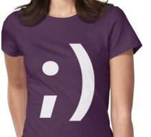 Wink ;) Womens Fitted T-Shirt
