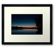 Black Friday conjunctions #1 Framed Print