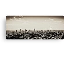 Johannesburg East with CBD in Background Canvas Print