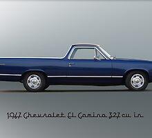 1967 Chevrolet El Camino 327 cu in by DaveKoontz