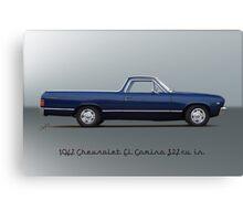 1967 Chevrolet El Camino 327 cu in Canvas Print