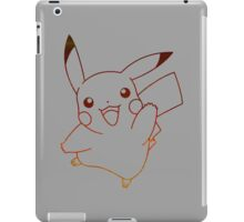 pokemon pikachu anime manga shirt iPad Case/Skin