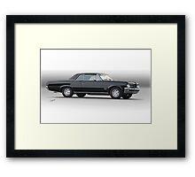 1964 Pontiac 'Red Line' GTO Framed Print