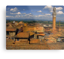 Tuscan rooftops Metal Print