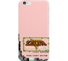 Zelda - The Saga Begins iPhone Case/Skin