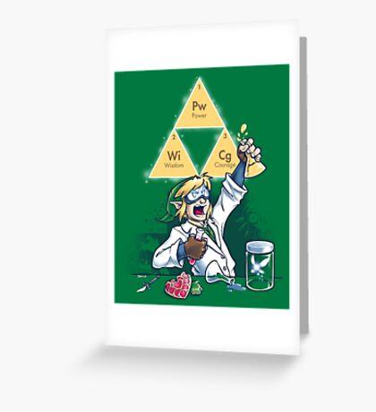 Hyrulean Science Greeting Card