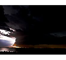 The Calm before the Storm Photographic Print