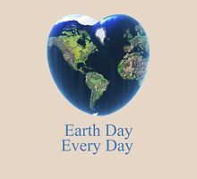 I love my earth Womens Fitted T-Shirt