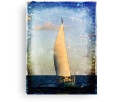 What Happens at Sea Canvas Print