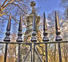 At the gates by Gary Cummins