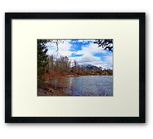 High Water 1 Framed Print