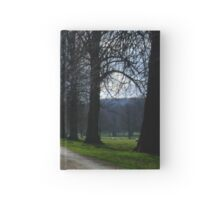 Pastoral country scene Hardcover Journal