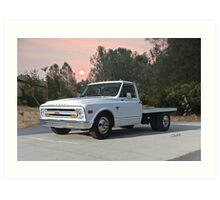 1968 Chevrolet C30 'Short Dually' Flatbed Art Print