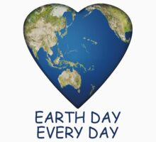 Earth Day . . . Every Day Baby Tee
