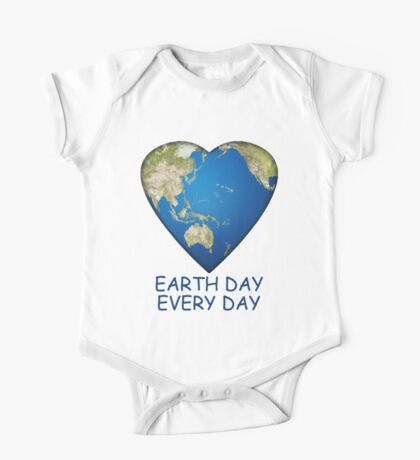 Earth Day . . . Every Day One Piece - Short Sleeve