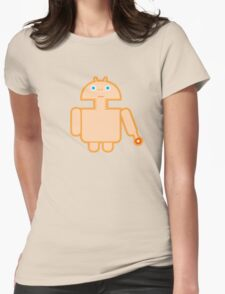 DROID PHONE HOME Womens Fitted T-Shirt