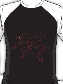 pokemon zoroark anime manga shirt T-Shirt