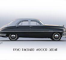 1950 Packard Four Door Sedan by DaveKoontz