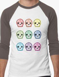 Baby suga skulls Men's Baseball ¾ T-Shirt