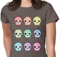 Baby suga skulls Womens Fitted T-Shirt