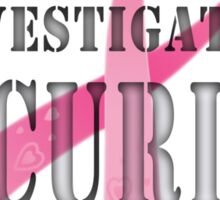 Security - Breast Cancer awareness Sticker