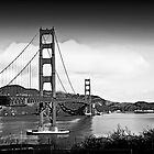 Golden Gate Bridge - San Francisco by Victor Kilman