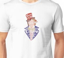 Willy Wonka And The Chocolate Factory Inspired Typography Unisex T-Shirt