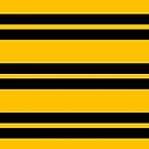 Hufflepuff Stripes - Thick by Serdd