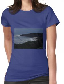 Sparkling beach Womens Fitted T-Shirt