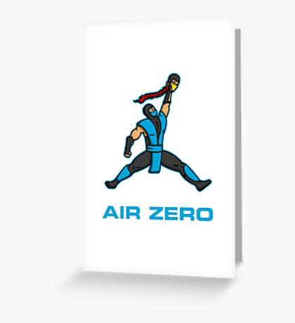 Air Zero Greeting Card