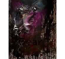 Self Portait 06 - Fear & Anger Photographic Print