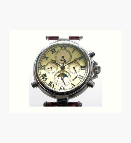 Replica Stauer Graves Wristwatch Art Print