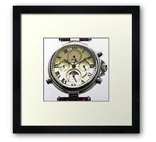 Replica Stauer Graves Wristwatch Framed Print