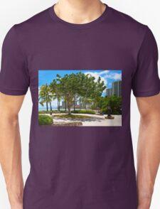 Waikiki Beach, Honolulu Oahu - HAWAII Unisex T-Shirt