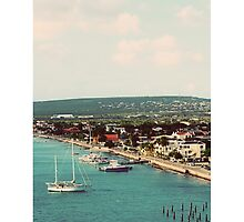 Cruise view - Bonaire by infinitepixels