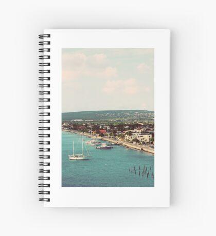 Cruise view - Bonaire Spiral Notebook