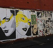 Faces on the Wall by Emily-RoseIrene